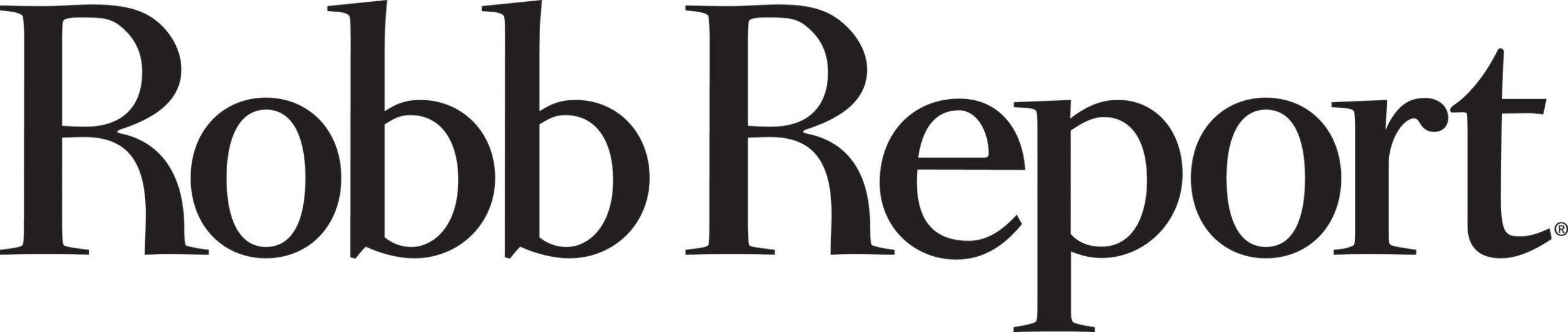 Robb Report logo. (PRNewsFoto/North American International Au)